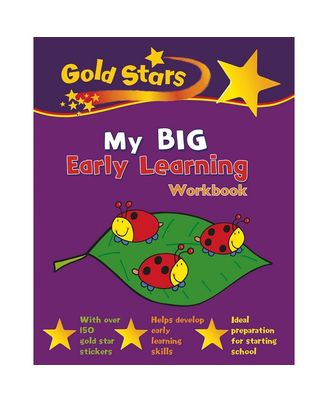 Gold Stars My Big Early Learning Workbook