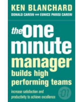 One minute manager builds high