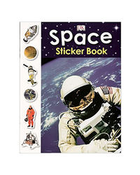 Sticker Activity Book Space