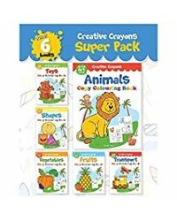 Colouring Books Super Pack: Creative Crayons Series
