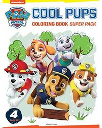 Paw Patrol Cool Pups Coloring Book Super Pack