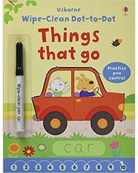 Wipe- Clean Dot- To- Dot Things That Go