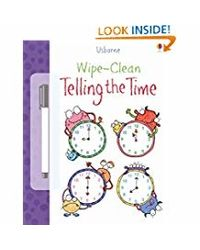 Wipe- Clean Telling The Time
