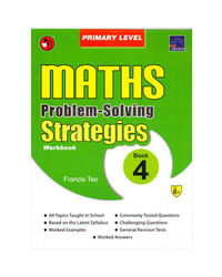 Sap Maths Problem Solving Strategies Workbook Primary Level 4