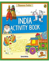 Discover India: India Activity Book