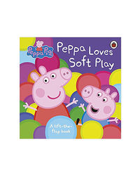 Peppa Pig: Peppa Loves Soft Play: Lift- The- Flap Book: A Lift- The- Flap Book