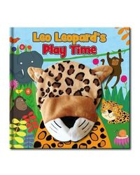 Large Hand Puppet Book- Leo Leopard's Play Day
