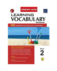 Sap Learning Vocabulary Workbook Primary Level 2
