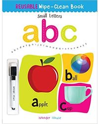 Reusable Wipe And Clean Book- Small Letters