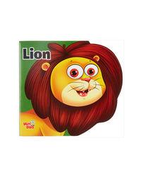 Lion: Cutout Board Book