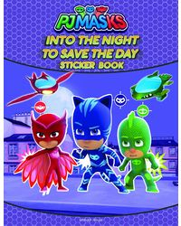 Into The Night To Save The Day Stickers Book