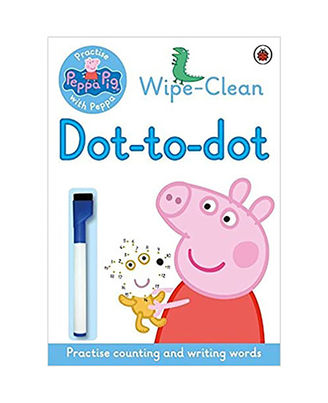 Peppa Pig: Practise With Peppa: Wipe- Clean Dot- To- Dot