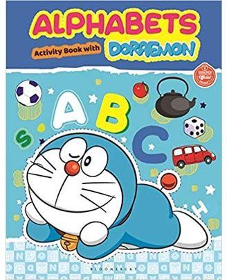 Alphabets With Doraemon Activity Book