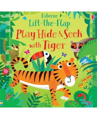 Lift The Flap Play Hide & Seek With Tiger