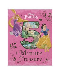 Disney Princess 5- Minute Treasury (Disney Bedtime 5 Minute)