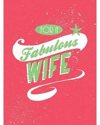 For A Fabulous Wife Hb (Nr)