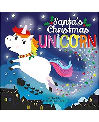 Santa s Christmas Unicorn