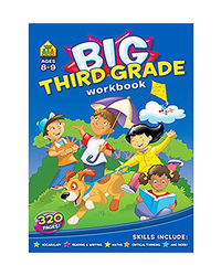 Big Third Grade Workbook Ages 8- 9