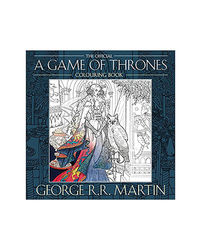 A Game Of Thrones- Colouring Book