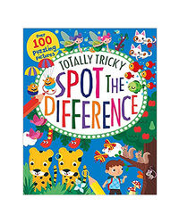 Totally Tricky Spot The Difference: Over 100 Puzzling Pictures (Activity Book)