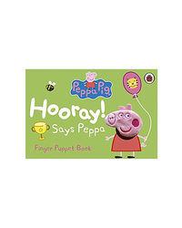 Peppa Pig: Hooray! Says Peppa Finger Puppet Book