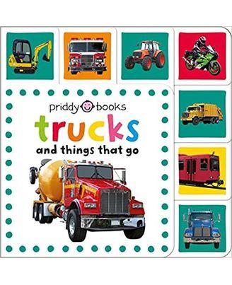 Mini Tab Books: Trucks & Things That Go