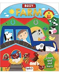 Busy Farm: Shape Book