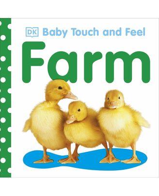 D k baby touch & feel: farm