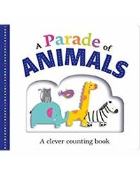 Picture Fit Board Books: A Parade Of Animals- A Counting Book: A Clever Counting Book