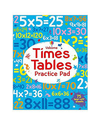 Times Tables Practice Pad (Tear- Off Pads)