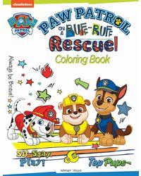 Paw Patrol On A Ruff- Ruff Rescuel Coloring Book