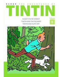 Tintin adv of vol 8(hb)