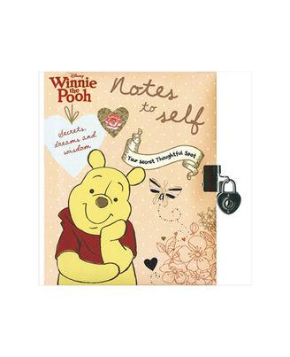 Disney Winnie The Pooh Notes To Self (Lock & Key) (Disney Vintage Book Of Secrets)