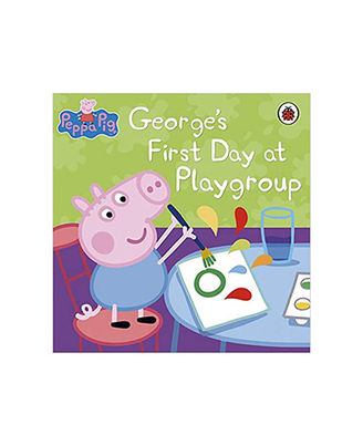 Peppa Pig: George s First Day At Playgroup
