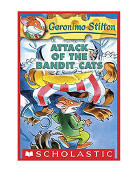 Geronimo Stilton: # 8 Attack Of The Bandit Cats