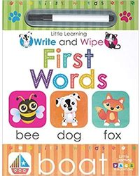 First Words: Write & Wipe
