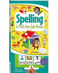 A Pull- The- Tab Board Book: Spelling
