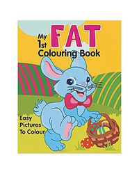 My 1St Fat Colouring Book