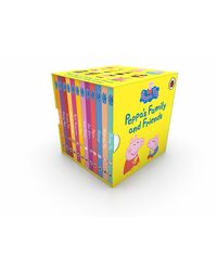 Peppa Pig: Peppa's Family and Friends (12 Board Books)