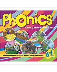 Phonics Story Time Library (6 In 1) (Yellow)