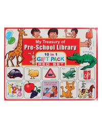 My Treasury Of Preschool Picture Library 10 In 1 Gift Pack