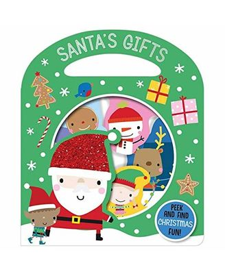 Busy Windows Santa s Gifts