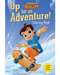 Chhota Bheem Up For An Adventure Coloring Book