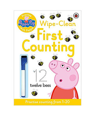 Peppa Pig: Practise With Peppa: Wipe- Clean First Counting