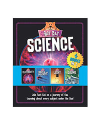 Fact Cat: Science Bind- Up (Electricity, Forces & Magnets, Light, Sound) 4 Books In 1