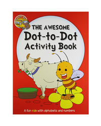 Activity Book: The Awesome Dot- To- Dot Activity Book