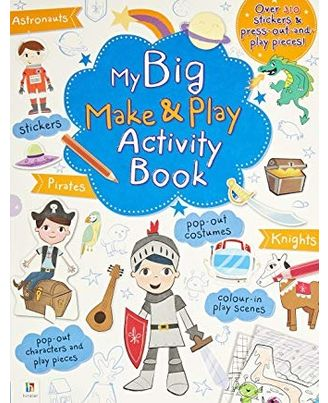 My Big Make & Play Activity Book