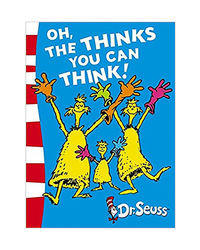 Oh, The Thinks You Can Think! : Green Back Book