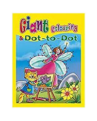 Giant Colouring And Dot- To- Dot
