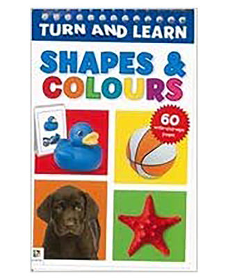 Turn & Learn: Shapes & Colours